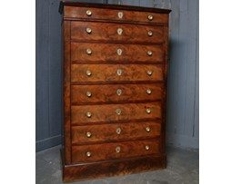 Antique Secretaire Chest of Drawers