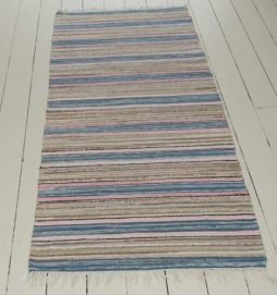 A Traditional Handwoven Swedish Rug