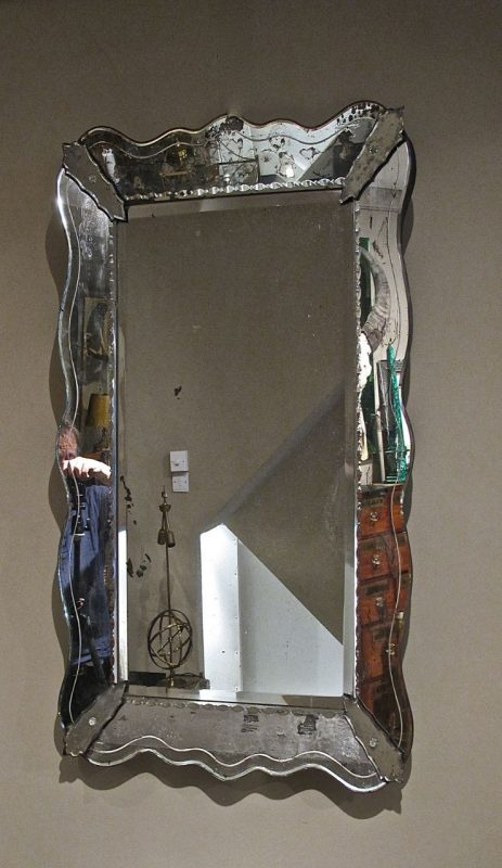 Large 1950's French Venetian Style Mirror | Interior ...