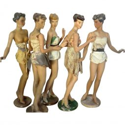 Vintage Mannequins by Siegel of Paris