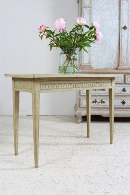 Antique Swedish Painted Gustavian Console Table