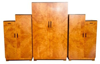 Art Deco Wardrobe Set