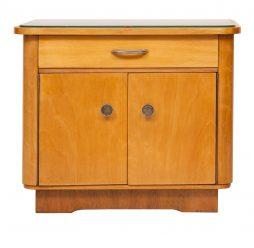 Art Deco Ash Side Table
