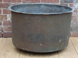 19th Century English Antique Decorative Copper Planter
