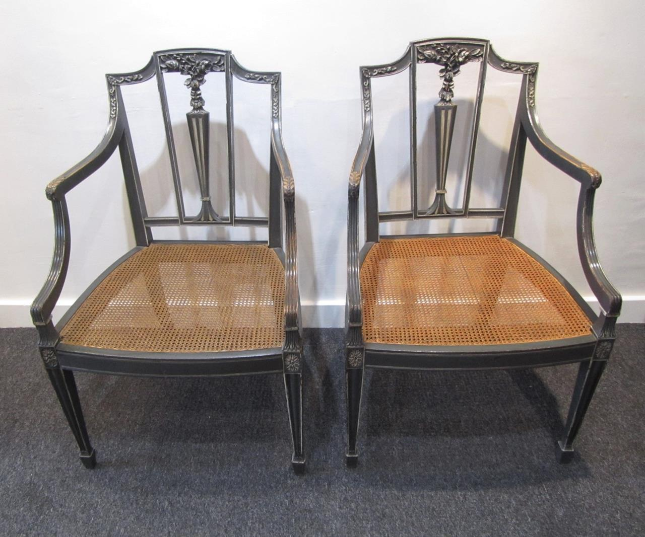 A pair of sheraton style side chairs interior boutiques for What is sheraton style furniture