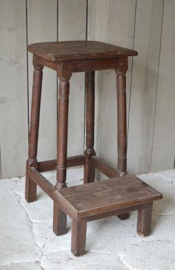 Antique French Rustic Stool