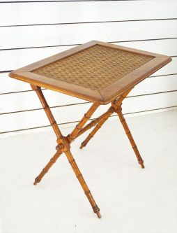 Antique Folding Campaign Table