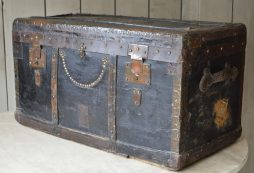 19th Century French Travelling Trunk