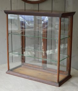 Antique 19th Century Biscuit Display Cabinet