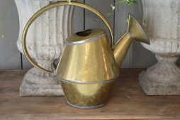 Antique French Brass Watering Can