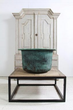 French 20thC Copper Cheese Vat Planter
