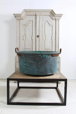 Fabulous French 20th Century Verdigris Copper Planter