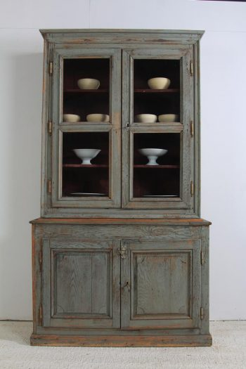 Stunning Antique French Glazed 19th Century Bookcase