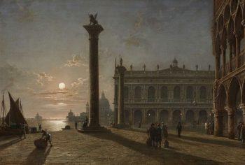 Henry Pether Outside the Doge's Palace, Venice - POA
