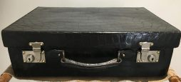 Vintage Crocodile Suitcase