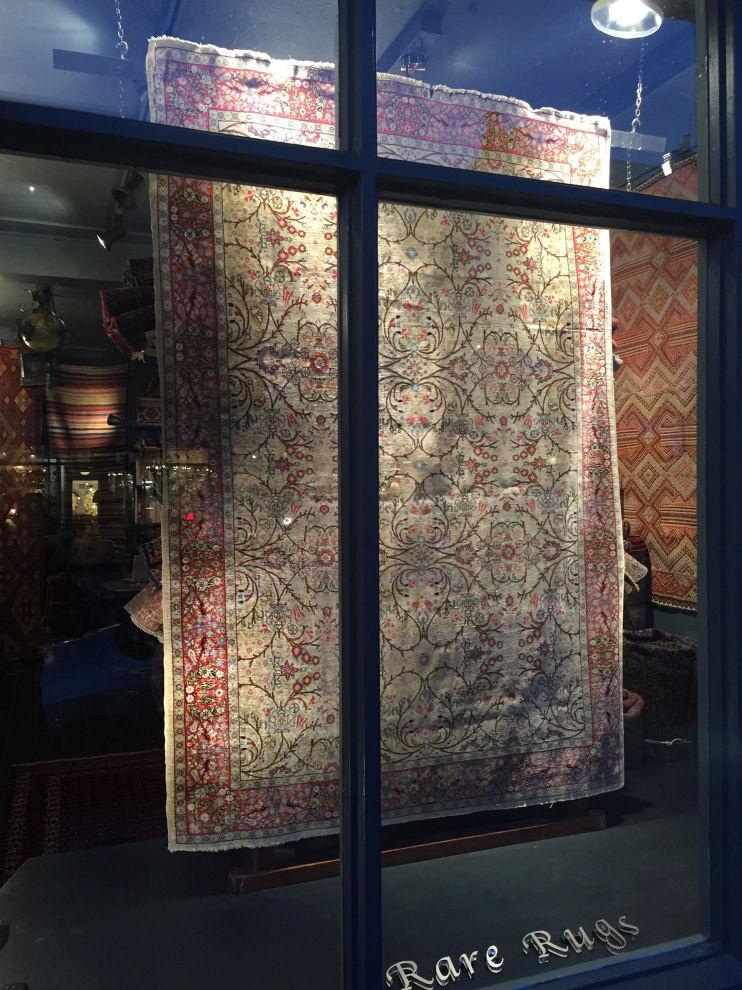 Antique  Persian Heriz Allover Design Carpet - POA