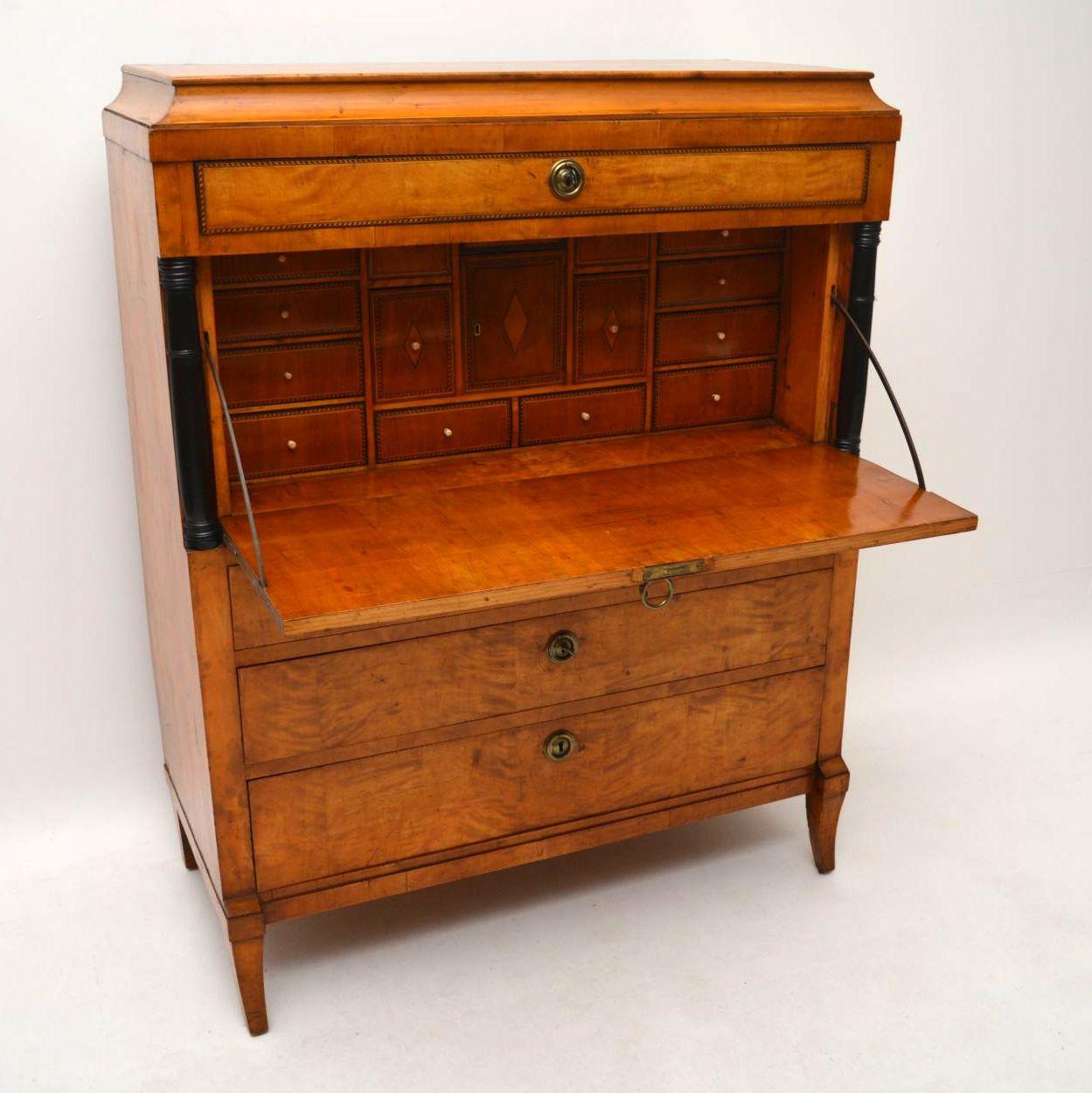 antique swedish biedermeier secretaire desk bureau interior boutiques antiques for sale. Black Bedroom Furniture Sets. Home Design Ideas