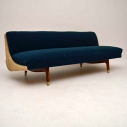 Danish Retro Sofa Bed Vintage 1950's