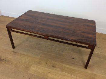MID CENTURY ROSEWOOD TABLE