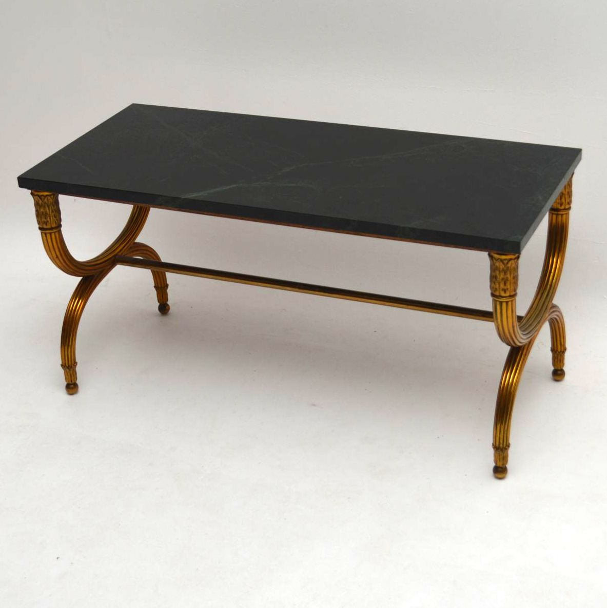Antique French Gilt Metal Marble Top Coffee Table Interior Boutiques Antiques For Sale And