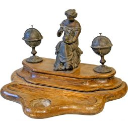 Decorative 19th Century Inkstand from France