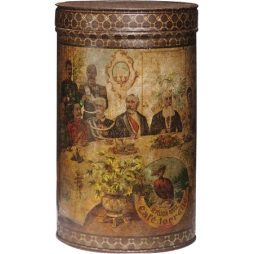 Rare Historical Coffee Tin Canister