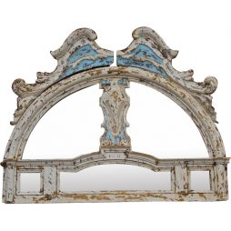 Mirrored Entryway Pediment from Florence, Italy
