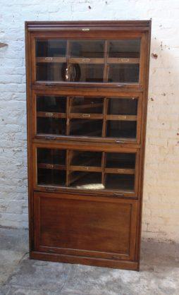 Vintage Oak Haberdashery Cabinet By Dudley & Co Ltd