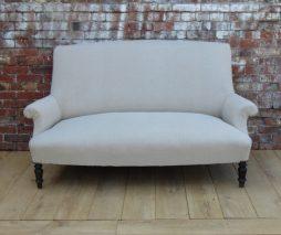 19c Reupholstered Napoleon III Sofa