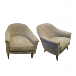 SCANDINAVIAN PAIR OF ARMCHAIRS