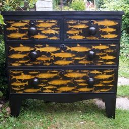 Fish Chest of Drawers