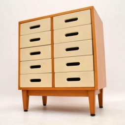 Retro Chest Of Drawers By James Leonard For Esavian Vintage 1950'