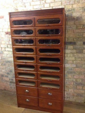 Haberdashery Drapers Cabinet