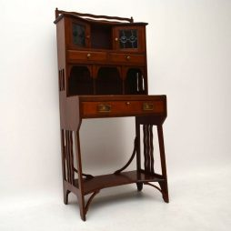Antique Mahogany Arts & Crafts Writing Bureau – Liberty