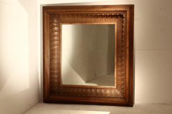 19th Century Deep Frame Mirror