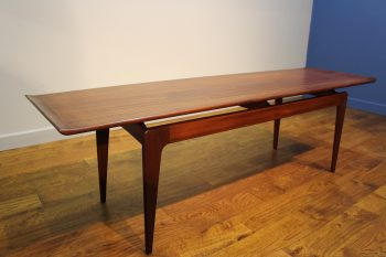 STYLISH A YOUNGER AFROMOSIA COFFEE TABLE C 1960