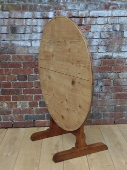 19c Cherry & Pine Vendange Table