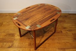 Svend Langkilde rosewood butler's tray / side table