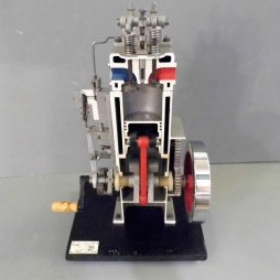 Cut Away Engine Model