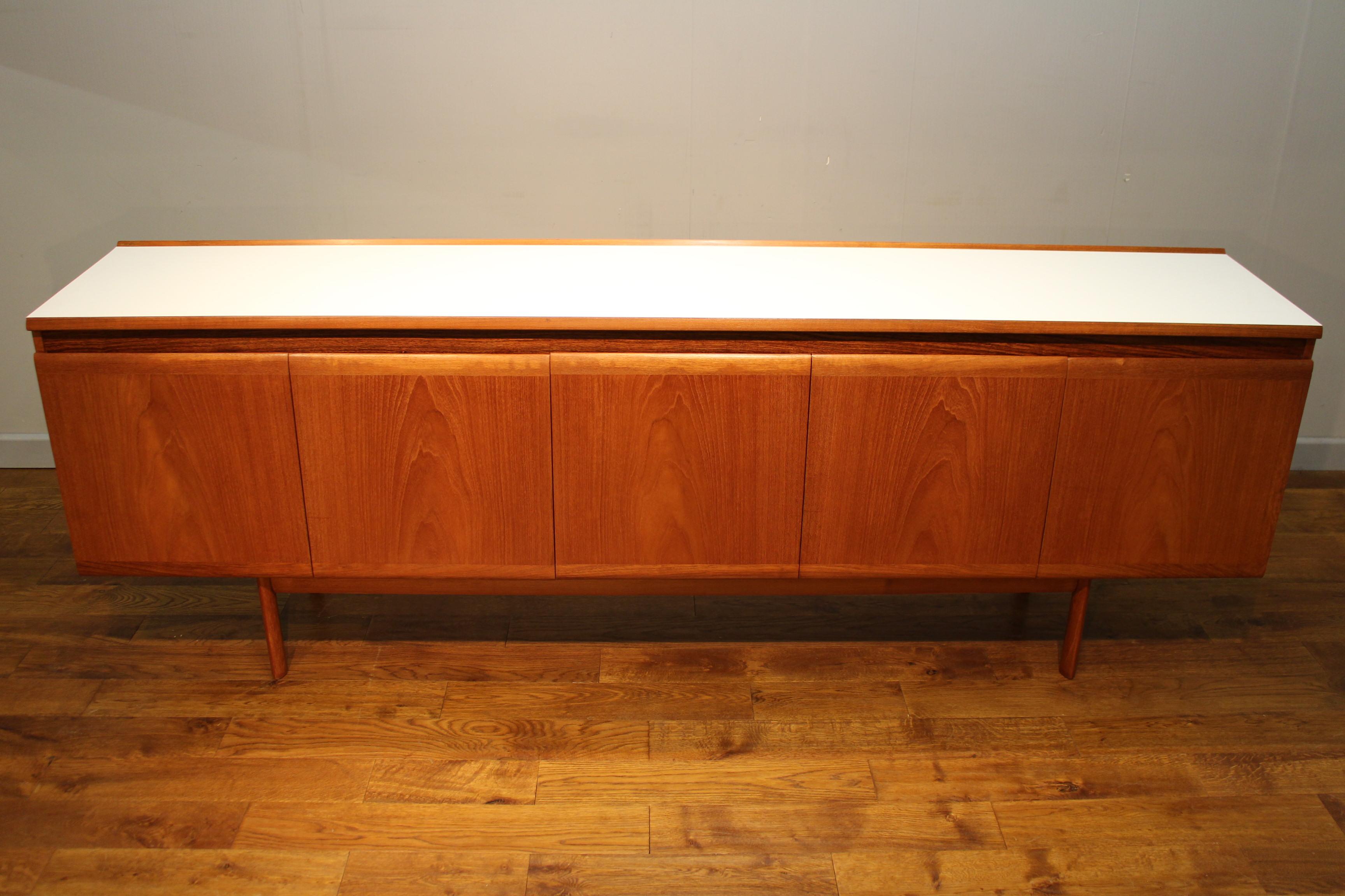 Rare White Amp Newton Teak Sideboard Interior Boutiques