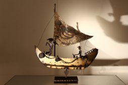 Decorative Metal Boat