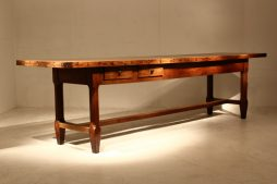 Large 18th Century Oak Farmhouse Table
