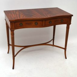 Antique Regency Style Mahogany Console Table