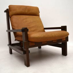 Danish Vintage Leather Armchair
