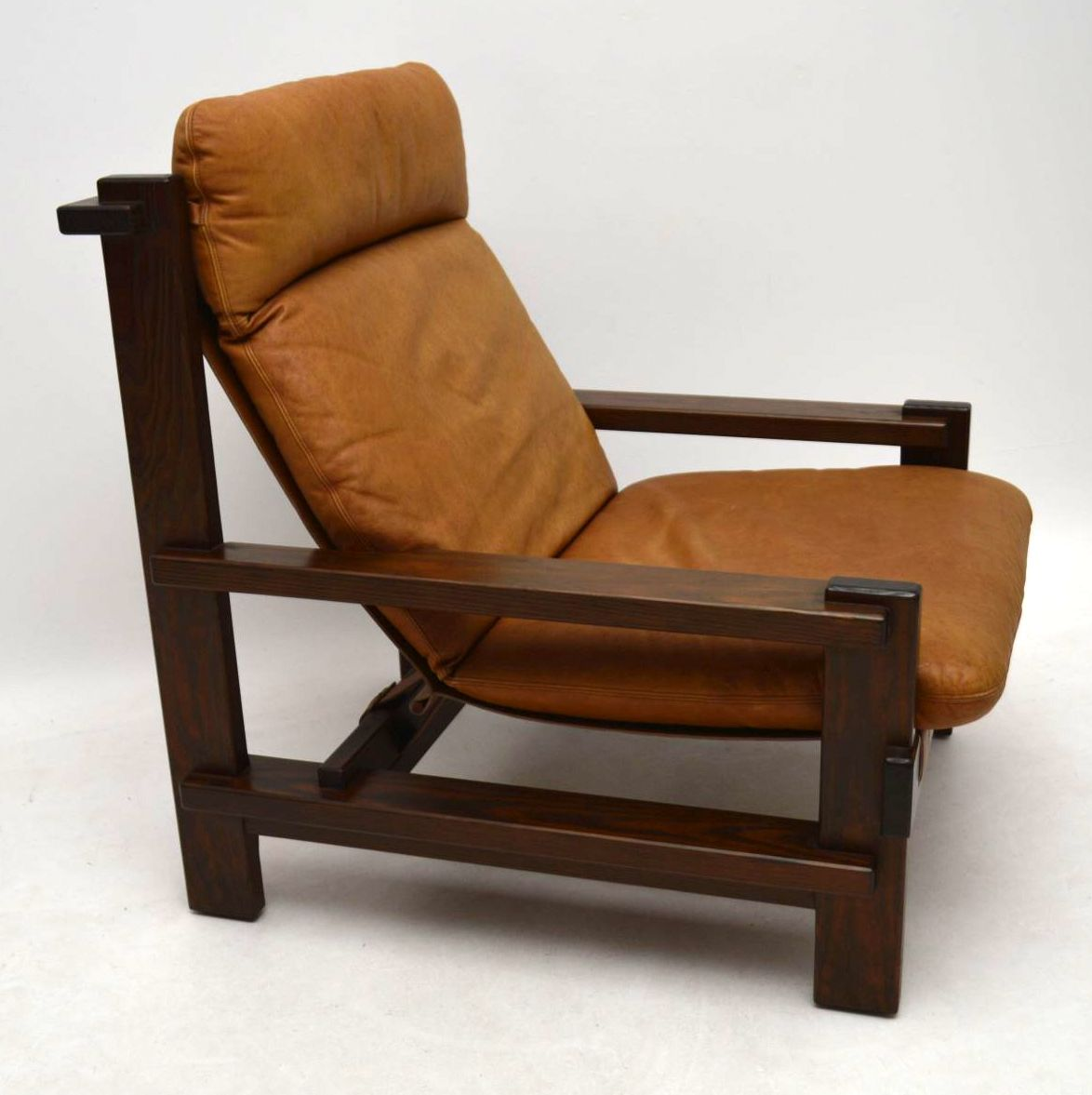 Vintage Furniture For Sale Online: Danish Vintage Leather Armchair