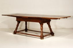 17th Century Swiss Draw Leaf Table