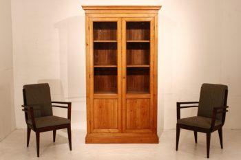 19th Century Cherry Bookcase