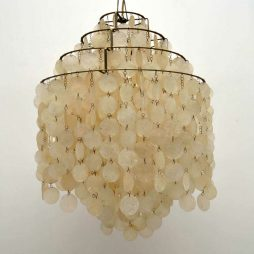 1960's 'Fun' Chandelier by Verner Panton for J. Luber