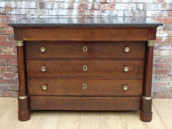19c French Empire Chest Of Drawers