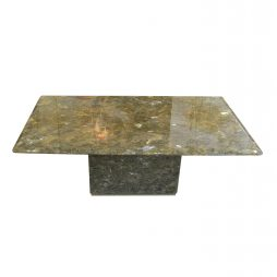 Labradorite coffee table